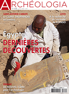 Archéologia n° 596 - Mars 21