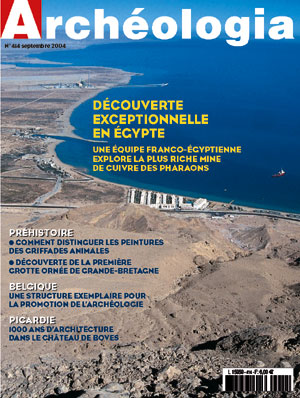 Archéologia n° 414 - Septembe 2004
