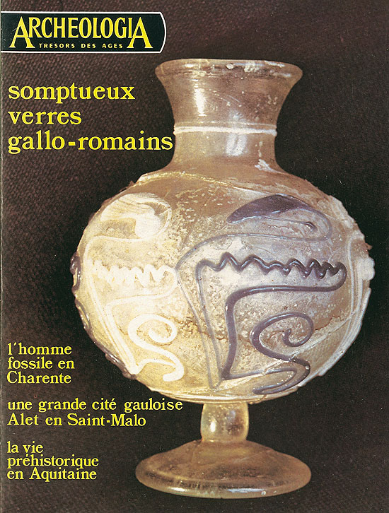 Somptueux verres gallo-romains