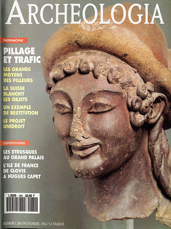 Pillage et trafic