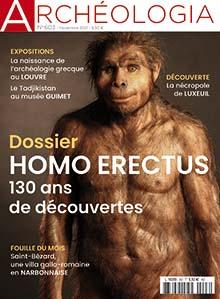 Archéologia n° 603 - Nov. 21