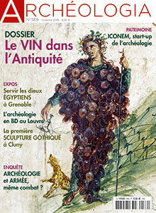 Archéologia n° 569 - Oct. 18